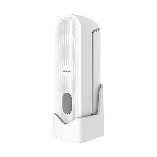 HEALLILY Difusor de Aromaterapia USB Humidificador de Aire Portátil Purificador Niebla Aceite Esencial para El Escritorio del Hogar Dormitorio Oficina Yoga