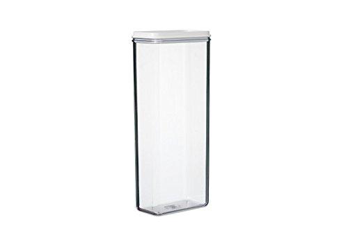 Rosti Mepal 104660030600Modul Aufbewahrungsbox San weiß 13x 7,5x 30cm 1900ml