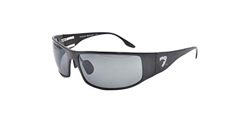 Fugitive Aluminum Sunglass Black Polarized Gray
