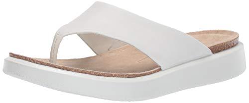 ECCO Damen CORKSPHERESANDAL Pantoffeln, Weiß (White 1007), 38 EU