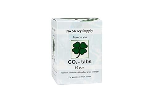 Weedness No Mercy Co2 Tabletten 60 Stück - Kapseln Pflanzen Dünger Grow Anbau Indoor Outdoor