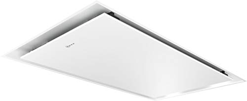 Neff I95CAQ6W0 Dunstabzugshaube N50 / 90 cm / Abluft oder Umluft / A / HomeConnect / Dimmfunktion / EfficientDrive / weiss