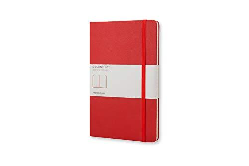 Preisvergleich Produktbild Moleskine Adressbuch Pocket,  Hardcover,  rot