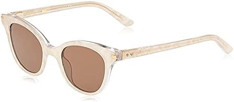 كالفن كلاين نظارة شمسية للنساء ، افييتور ، بني