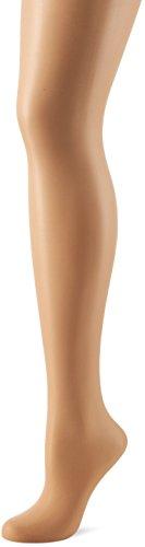 Fiore Damen Feinstrumpfhose ADA/CLASSIC Strumpfhose, 15 DEN, Braun (Light Natural 086), Medium (Herstellergröße:3)
