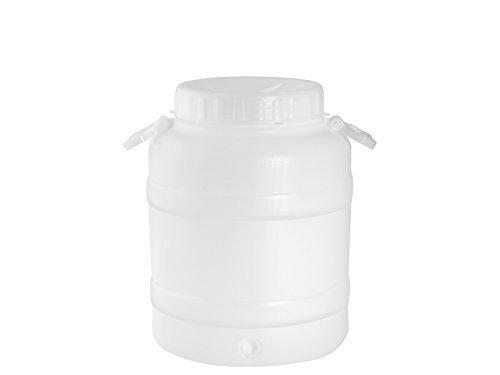 Nuova Plastica Adriatica Fusto con Bocca Larga per Alimenti liquidi POLIETILENE HDPE (30 Lt)