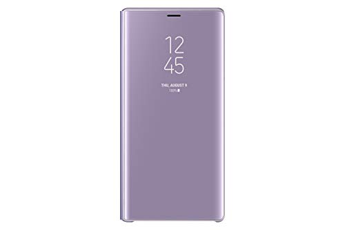 Samsung Galaxy Note9 Case EF-ZN960CVEGUS S-View Flip Cover with Kickstand, Lavender Purple