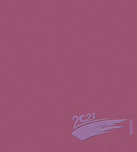 Foto-Malen-Basteln Bastelkalender bordeaux 2021: Fotokalender zum Selbstgestalten. Do-it-yourself Kalender mit festem Fotokarton. Edle Folienprägung. Format: 21,5 x 24 cm