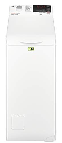 AEG L6TBA664 Waschmaschine Toplader / Energiesparender Waschvollautomat/ Energieklasse E / ProSense Mengenautomatik / Eco- & TimeSave / 40 cm breit mit 6kg Fassungsvermögen