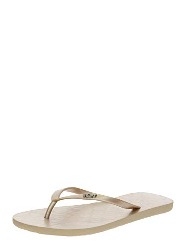 Roxy Viva, Zapatos de Playa y Piscina para Mujer, Dorado (Metallic Gold MGD), 39 EU