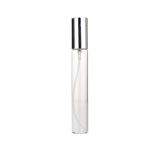 BOENTA Vaporizador Perfume Recargable Atomizador Perfume Recargable Atomizador Botellas de Spray Botella pulverizadora no tóxica Perfume de Botella de Viaje Silver