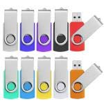 Pendrive 16GB 10 Piezas Colores - JUYUKEJI Memoria USB Flash Pen Drive,...