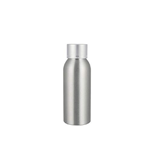 AchidistviQ Rostfreie Aluminium-Flaschenaufbewahrung, geeignet für Lotion, Toner, Fischfutter, 100 ml