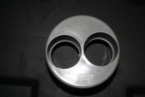 Sibo/ Aquaforte 110 mm vers 2 x 50 mm - Réduction de l'utilisation pour tuyaux KG
