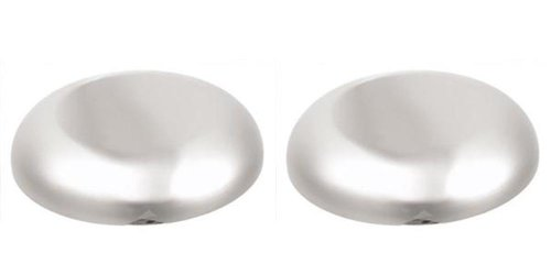 Lot of 2 Stainless Steel Roadmaster Bell Horn Covers
