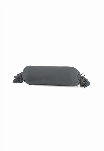schlafgut 031-556 Mako Jersey Kissenbezug / 15 x 40 cm, Titan