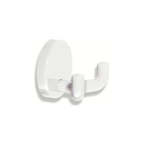 HEWI Doppel-Wandhaken | Polyamid reinweiß 99 | 1 Stück | 477.90.025