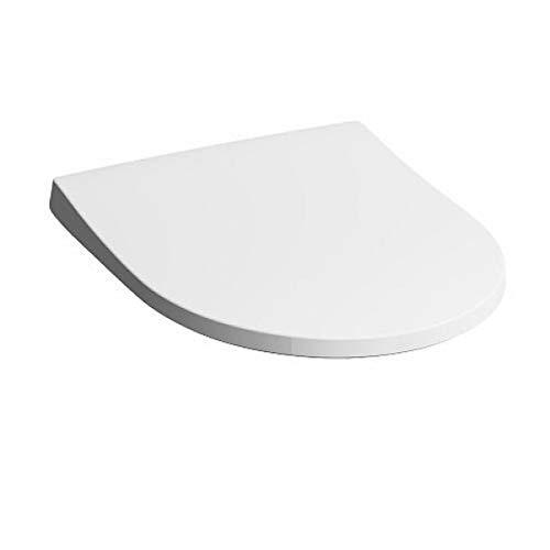 Keramag iCon WC-Sitz SLIM mit Deckel, Wrap-over, mit Absenkautomatik weiß