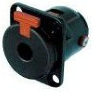 s XLR embase Femelle 3 Noir 1 pc Contacts Droits Neutrik NC3FAV1 Nombre de p/ôles