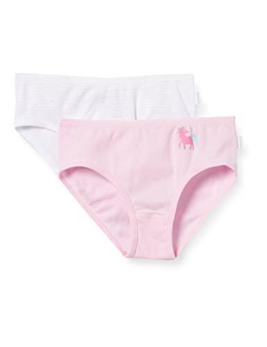 Schiesser Kinder Mädchen Organic Cotton Unterwäsche (2er Pack), mehrfarbig 2, 116