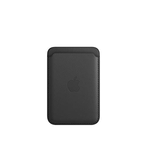 Apple Leather Wallet with MagSafe (for iPhone) - Black