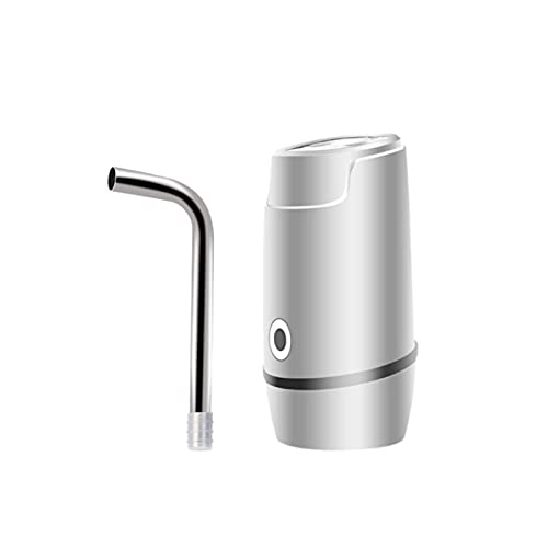 PrittUHU Dispensador de Agua eléctrica automática Interruptor de Botella de Bebida Interruptor inalámbrico Inteligente Bomba de Agua Agua Electrodomésticos (Color : White)