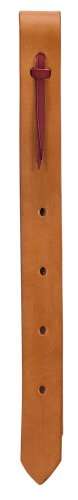 Weaver Leder Einlagig Off-Billet, 30-0705-LT, London Tan, 1 3/4 x 39-Inch