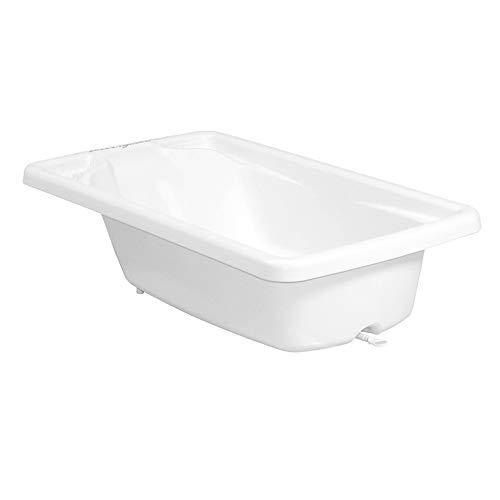 Banheira Plástica Para Bebê Avulsa Millenia Branco - Burigotto