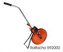 Profi Baustellen Rolltacho Messrad mit cm-Ablesung - Meßbereich 9999,99