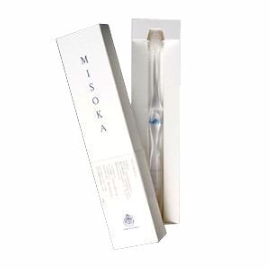 同行主人流行しているmisoka  ミソカ歯ブラシ (藍色) 水でツルツルになるナノテク歯ブラシ