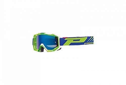 Bril / masker Cross Progrip 3200 FL Venom, groen/wit, spiegeleffect, krasbestendig, UV-bescherming / anti-condens