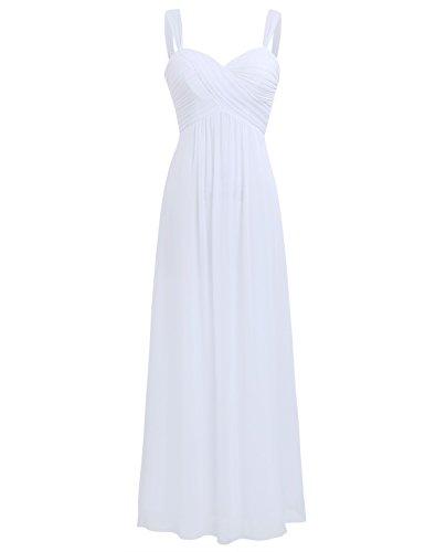 Freebily Vestido Elegante de Boda Fiesta Cóctel para Mujer Dama de Honor...