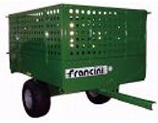Alargadera Para Desechos de Jardín, Dim. 50cm, para remolque Francini FQ 6