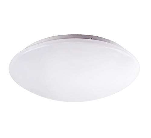OSTWIN 14 Inch Dimmable LED Ceiling Light, Flush Mount Round Light Fixture, 25 Watts (125W Replacement), 1931 Lm, 5000K (Daylight), Acrylic Shade, Energy Star, ETL Listed