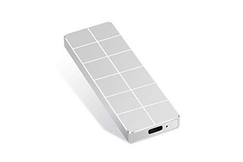 External Hard Drive 1 TB 2 TB 3 TB 3 TB portátil disco duro externo Type-C USB 3.0 para PC, portátil y Mac (2TB Silver)