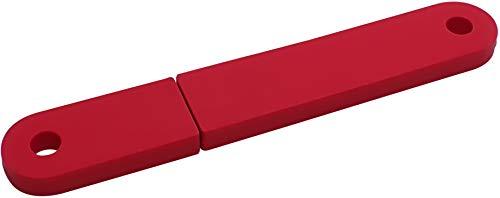 USBfix - USB-Stick zum Abheften V2 USB2.0 32GB TypA Flach Rot 3er-Pack