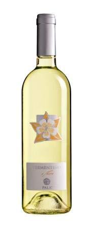 6 x 0.75 l - I Fiori è un Vermentino di Sardegna Doc, vino bianco d'eccellenza, dal prezzo contenuto, prodotto dai Pala di Serdiana - terreni argillosi a 180 m sul livello del mare