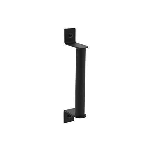 INTERSTEEL - Handgriff Mattschwarz, Schiebetür Türgriff - Türgriff für Schiebetüren, Innnetüren und Wandschränke - 200 x 25 mm