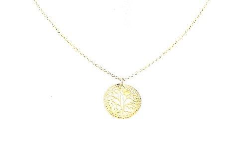 Stephisimo ST9028g Lebensbaum Fine filigre Kette Gold