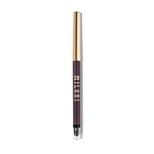 Milani Stay Put Eyeliner - Duchess (0.01 Ounce) Cruelty-Free Self-Sharpening Eye Pencil with Built-In Smudger - Line & Define Eyes with High Pigment Shades for Long-Lasting Wear