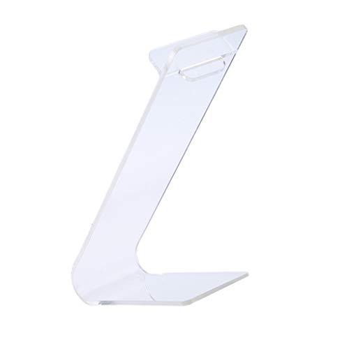 SM SunniMix Transparent akryl hög klack sko detaljrik display ställ platt hållare stativ