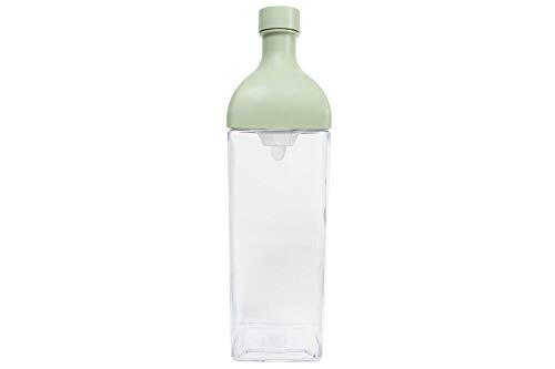 Hario KAB-120-SG Cold Brew Tea Bottle Ka-Ku, plastik, Rauchgrün
