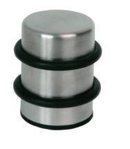 Lienbacher Butée de porte de sol avec noyau en métal aspect inox