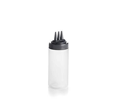 Lacor Botella Biberón, Plástico, Blanco, 7x7x20 cm
