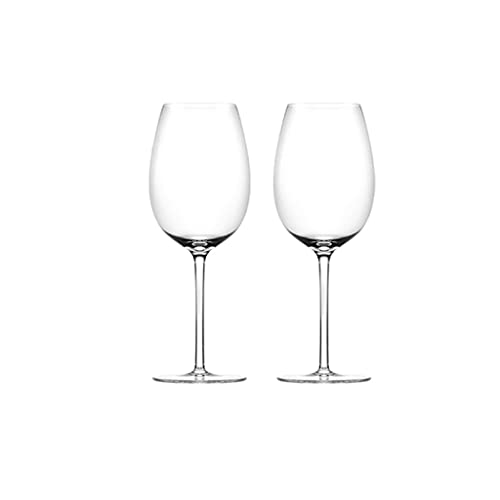 FEANG Wine Glasses Wine Glasses Set Of 2 | 600 ML,Crystal Wine Glasses Perfect for Home, Restaurants and Parties | Dishwasher and Microwave Champagne Glasses