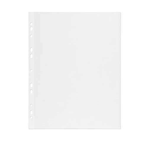 mashpaper Fotokarton Fotoblätter 100 Blatt weiß mit Pergamin 230x297mm 65000420