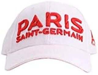 d8e97d3a3a2df Paris Saint-Germain Casquette PSG Taille Unique Ajustable Couleur : Blanche