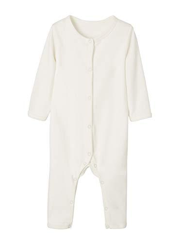 VERTBAUDET Lote de 2 bodies blancos con perneras para bebé BLANCO CLARO LISO 36M-94CM