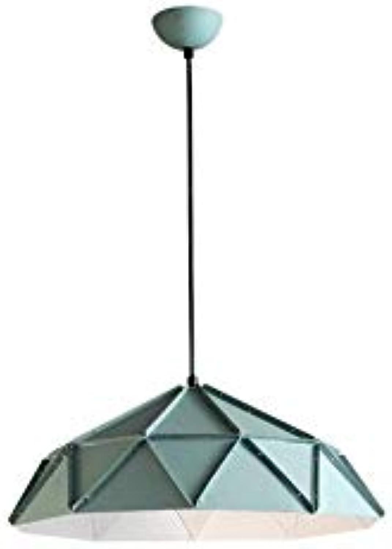 Kronleuchter FCreative Farbe Diamant Muster Pendelleuchten Innen Wohnzimmer Einstellbare Hngende Lichter Cafe Persnlichkeit Deckenleuchte E27