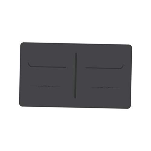 Desconocido Generic Almohadillas de Rodilla de Yoga rectangulares Almohadillas de Codo portátil cojín Suave para Ejercicios de Suelo de Yoga Ejercicio Pilates Limpieza de - Negro